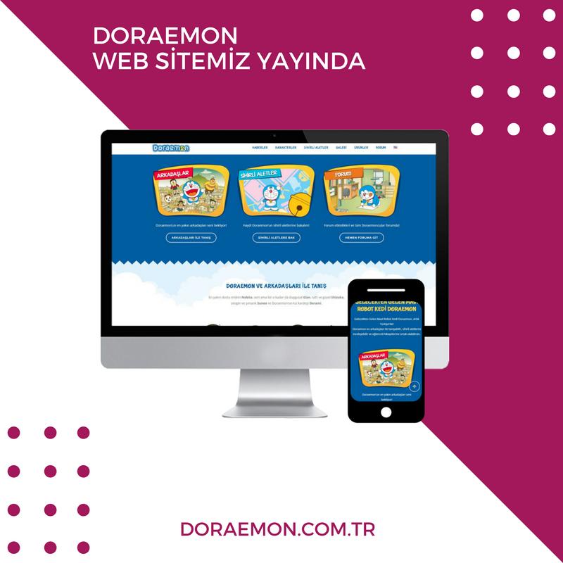 Doraemon Web Page Design