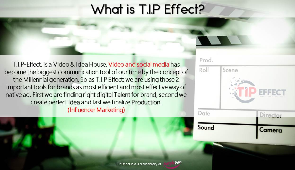 tipeffect video and idea house influencer marketing - Purple Pan