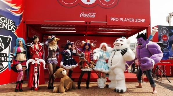 Coca-Cola-Esports - türkiyede espor