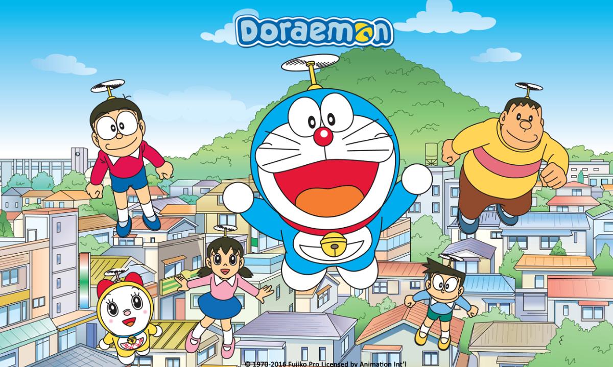 Doraemon Art Poster