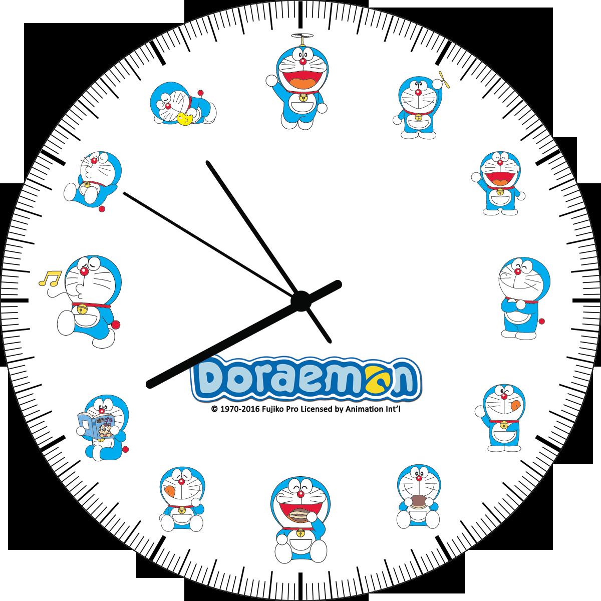 Doraemon Art-Print-Materia Saat Watch Design