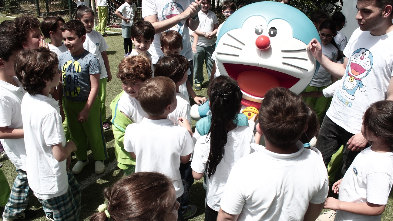 Anaokulu Etkinlikleri Doraemon