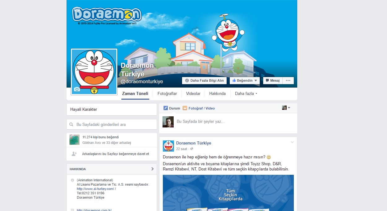 Doraemon Social Media Management