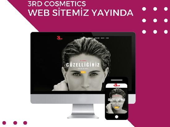 3rd Cosmetics Website Design
