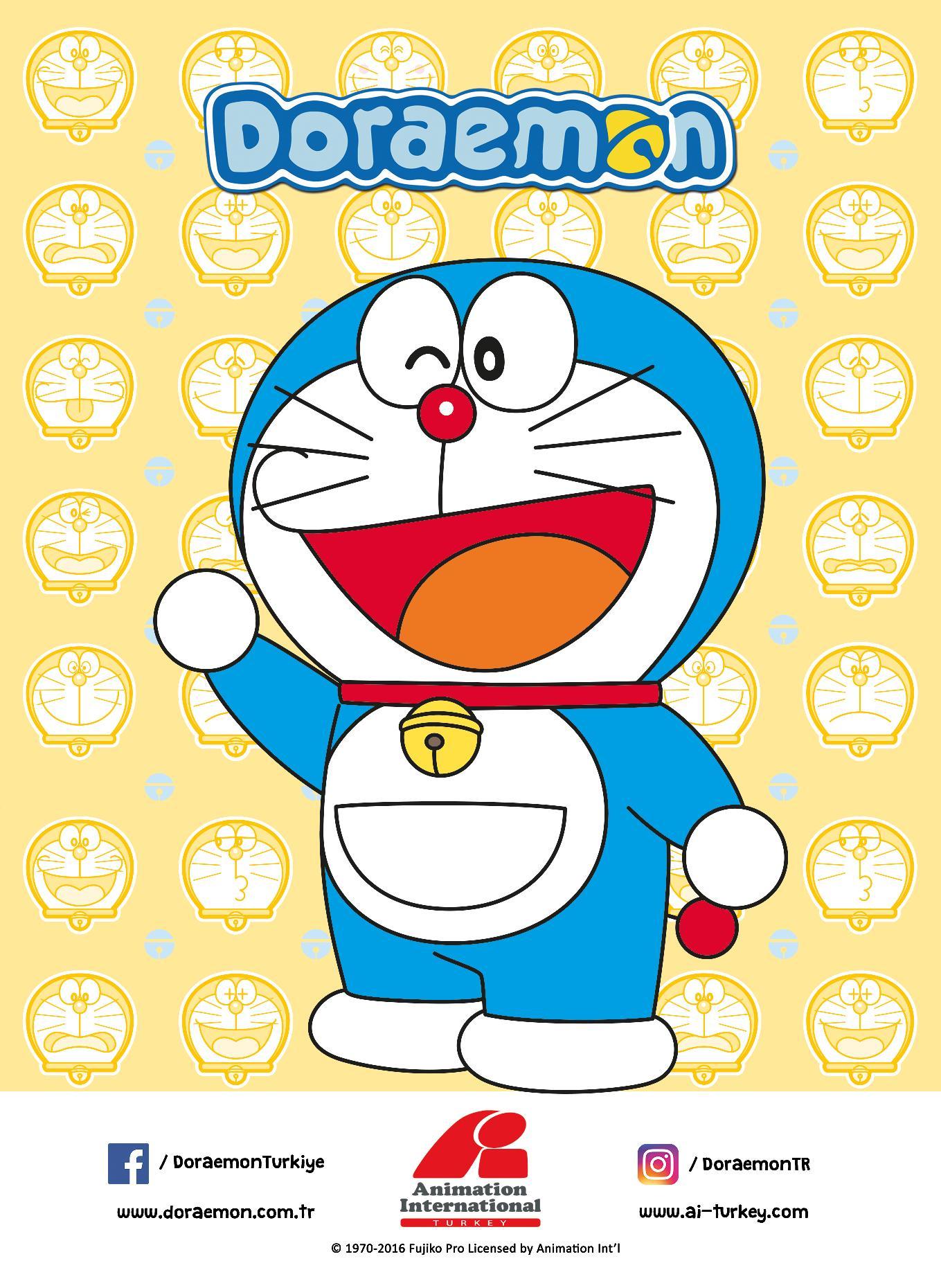 Doraemon products advert