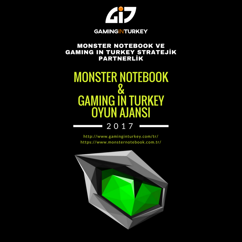 Monster Notebook Ve Gaming in Turkey Stratejik Partnerlik