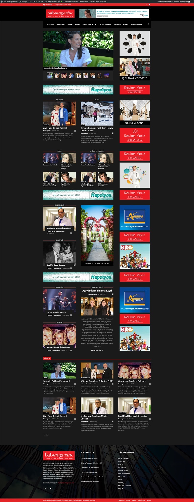 Babmagazine Website