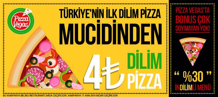 Flyer pizza vegas brand identity