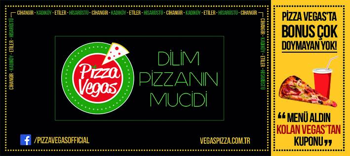 Flyer Pizza Vegas Kurumsal Kimlik Çalışması (Brand Identity)! Menü, ıslak mendil, - kıyafetler, pizza kutusu, kartvizitler, menüboard, motto, flyer, billboard.