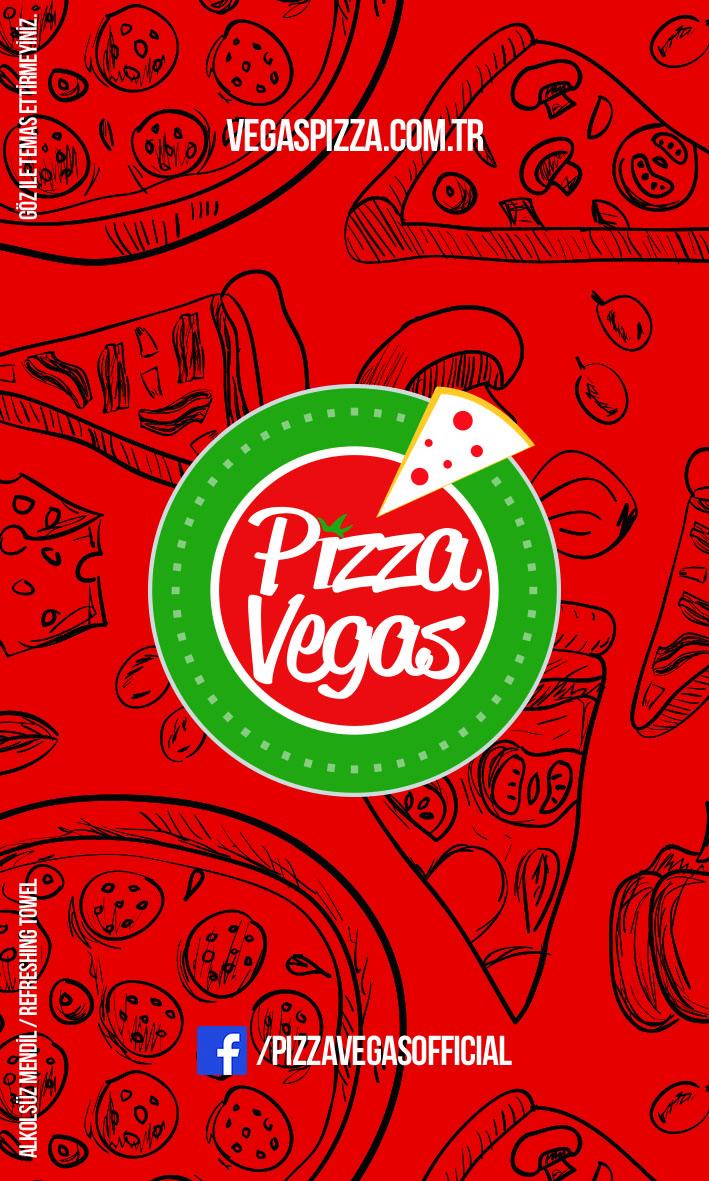 Islak Mendil Pizza Vegas Kurumsal Kimlik Çalışması (Brand Identity)! Menü, ıslak mendil, - kıyafetler, pizza kutusu, kartvizitler, menüboard, motto, flyer, billboard.