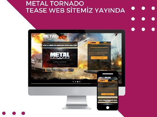 Metal Tornado Tease Page Dizayn