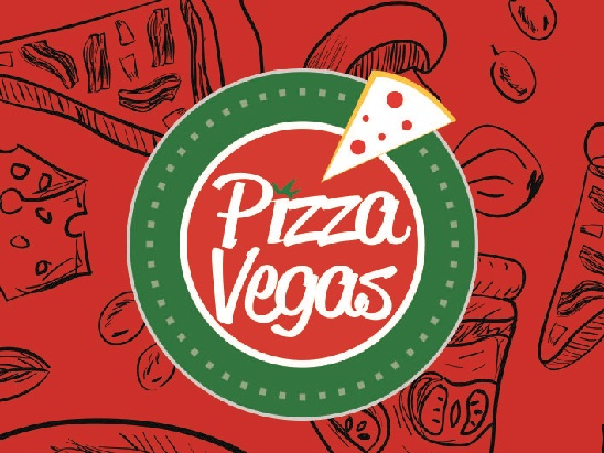 Pizza Vegas Kurumsal Kimlik Çalışması