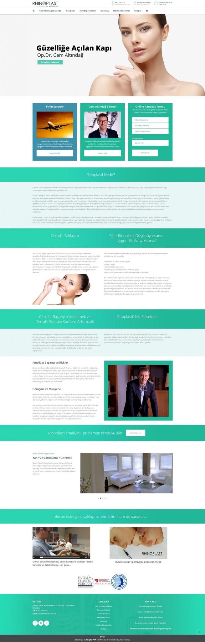 Rhinoplast Website