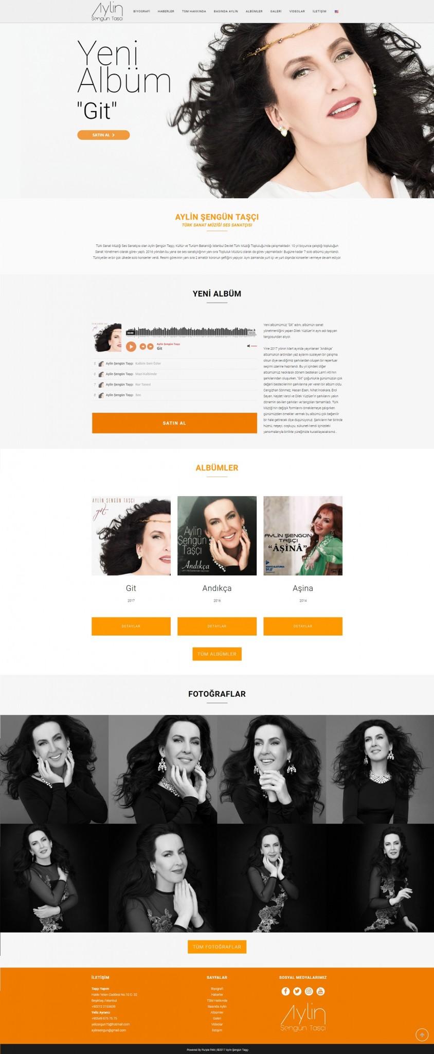 Aylin Şengün Taşçı Website