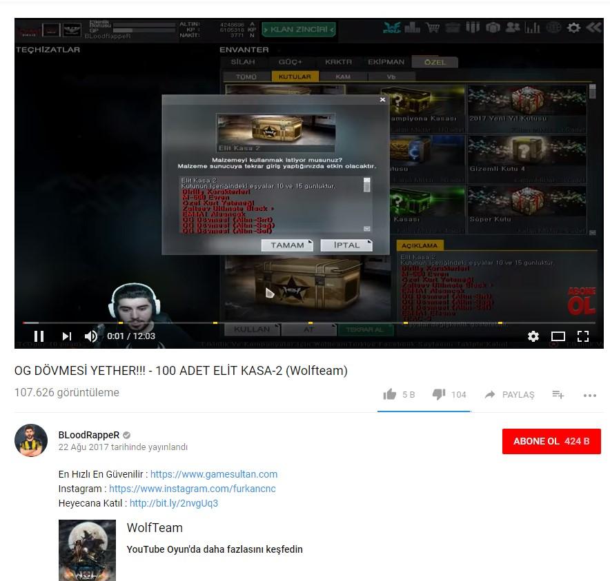Bloodrapper Game Influencer Marketing
