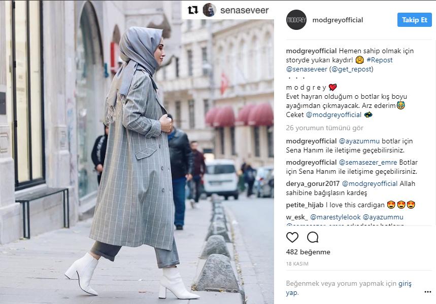 sena sever fashion influencer marketing