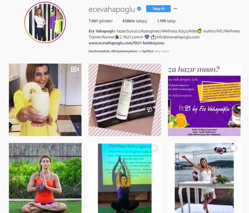 Bioritm Beauty Institute Ece Vahapoğlu Influencer Marketing