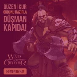WAR AND ORDER DİJİTAL KAMPANYALAR