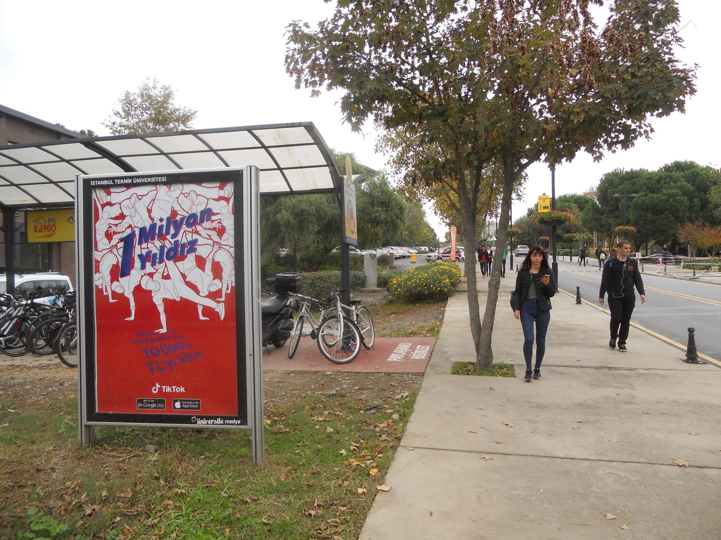 TikTok University Billboards - Outdoor Marketing