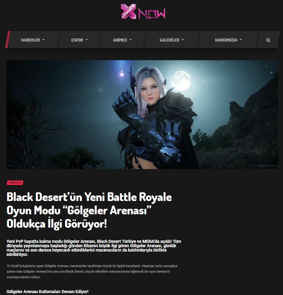 Black Desert Online Ocak 2019 PR 9