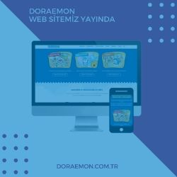 DORAEMON WEBSİTE ve İÇERİK YARATIMI