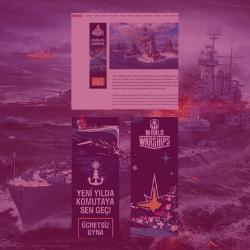 World of Warships Aralık 2019 Dijital Pazarlama Kampanyaları