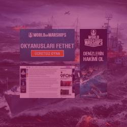 World of Warships Ocak 2020 Dijital Pazarlama Kampanyaları