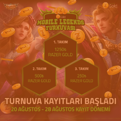 Razer Gold Mobile Legends Online Turnuva 3